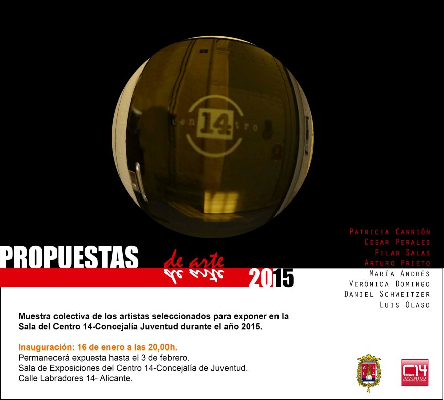 Propuestas 2015, Centro 14 Alicante