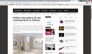 plataforma de arte contemporáneo